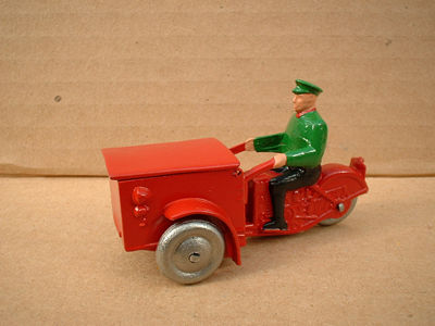 A DINKY TOYS COPY MODEL 14 TRIPORTEUR WITH METAL WHEELS