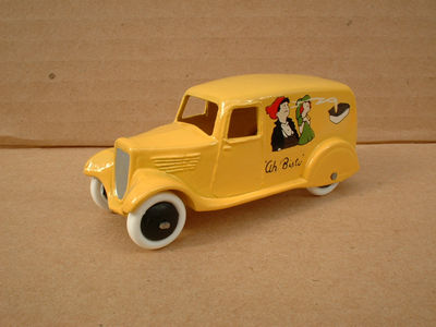 "A DINKY TOYS COPY MODEL 28 SERIES TYPE 2 DELIVERY VAN ""AH! BISTO"""