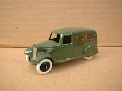 "A DINKY TOYS COPY MODEL 28 SERIES TYPE 2 DELIVERY VAN ""ATCO"""
