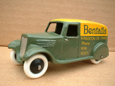 "A DINKY TOYS COPY MODEL 28 SERIES TYPE 2 DELIVERY VAN ""BENTALLS"""