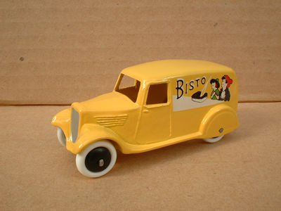 "A DINKY TOYS COPY MODEL 28 SERIES TYPE 2 DELIVERY VAN ""BISTO"""
