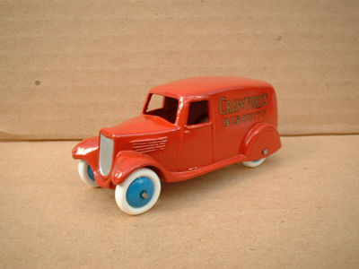 "A DINKY TOYS COPY MODEL 28 SERIES TYPE 2 DELIVERY VAN ""CRAWFORDS BISCUITS"""