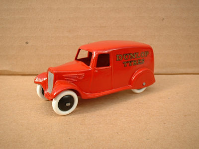 "A DINKY TOYS COPY MODEL 28 SERIES TYPE 2 DELIVERY VAN ""DUNLOP TYRES"""