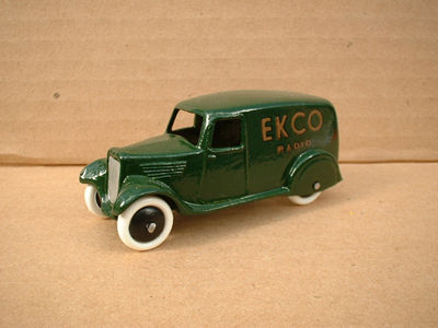 "A DINKY TOYS COPY MODEL 28 SERIES TYPE 2 DELIVERY VAN ""EKCO"""