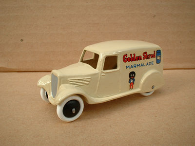 "A DINKY TOYS COPY MODEL 28 SERIES TYPE 2 DELIVERY VAN ""GOLDEN SHRED"""