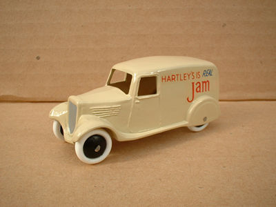 "A DINKY TOYS COPY MODEL 28 SERIES TYPE 2 DELIVERY VAN ""HARTLEYS JAM"""
