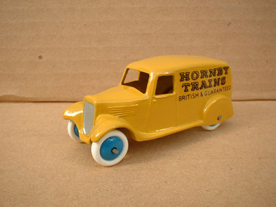 "A DINKY TOYS COPY MODEL 28 SERIES TYPE 2 DELIVERY VAN ""HORNBY TRAINS"""
