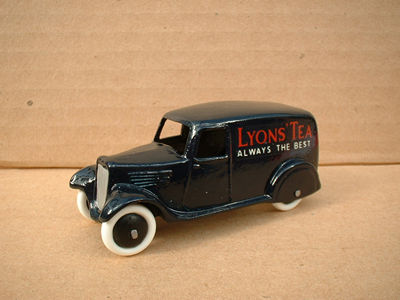 "A DINKY TOYS COPY MODEL 28 SERIES TYPE 2 DELIVERY VAN ""LYONS TEA"""