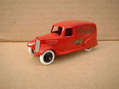 "A DINKY TOYS COPY MODEL 28 SERIES TYPE 2 DELIVERY VAN ""MACKINTOSH TOFFEE"""