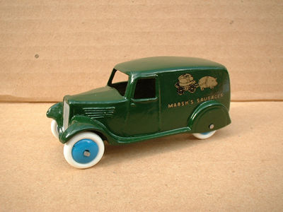 "A DINKY TOYS COPY MODEL 28 SERIES TYPE 2 DELIVERY VAN ""MARSH SAUSAGES"""