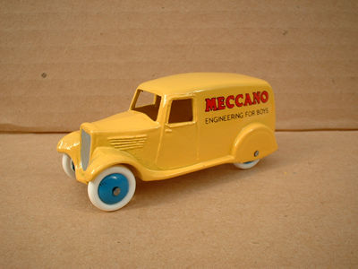 "A DINKY TOYS COPY MODEL 28 SERIES TYPE 2 DELIVERY VAN ""MECCANO ENGINEERING FOR BOYS"""