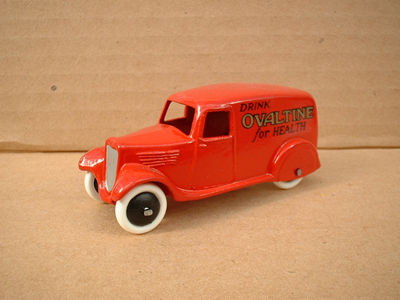 "A DINKY TOYS COPY MODEL 28 SERIES TYPE 2 DELIVERY VAN ""OVALTINE"""