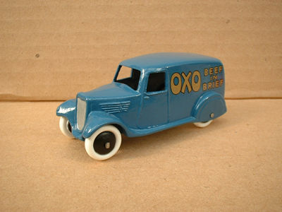 "A DINKY TOYS COPY MODEL 28 SERIES TYPE 2 DELIVERY VAN ""OXO"""