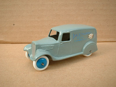 "A DINKY TOYS COPY MODEL 28 SERIES TYPE 2 DELIVERY VAN ""PALETHORPES SAUSAGES"""