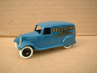 "A DINKY TOYS COPY MODEL 28 SERIES TYPE 2 DELIVERY VAN ""SECCOTINE"""