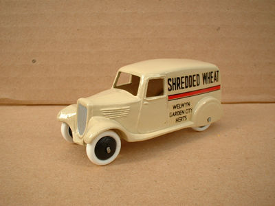"A DINKY TOYS COPY MODEL 28 SERIES TYPE 2 DELIVERY VAN ""SHREDDED WHEAT"""