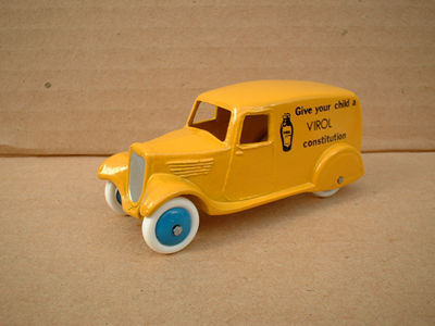 "A DINKY TOYS COPY MODEL 28 SERIES TYPE 2 DELIVERY VAN ""VIROL"""