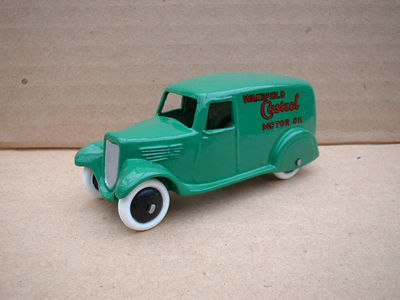"A DINKY TOYS COPY MODEL 28 SERIES TYPE 2 DELIVERY VAN ""WAKEFIELD CASTROL"""