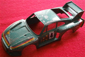 BURAGO - Original - 1:45 Porsche 935 TT Body for restoration