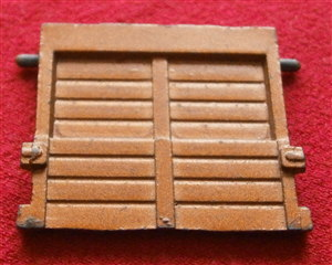 CORGI TOYS 1105 - Original - Articulated Horse Box Bronze Coloured Side Door [Each]
