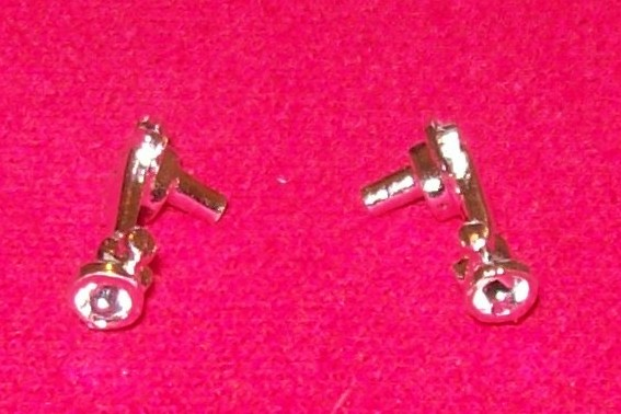 CORGI TOYS 266 Chitty rear light unit LH or RH  (need 3mm red jewel in each)