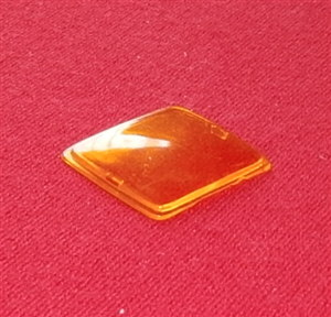 CORGI TOYS 275 Rover 2000TC plastic Orange Triplex roof panel