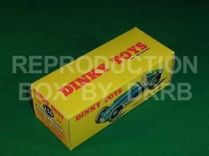 Dinky #230 (23k) Talbot Lago - Reproduction Box