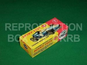 Dinky #240 Cooper Racing Car - Reproduction Box