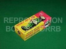 Dinky #241 Lotus Racing Car - Reproduction Box
