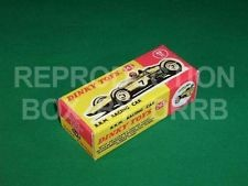 Dinky #243 B.R.M. Racing Car - Reproduction Box