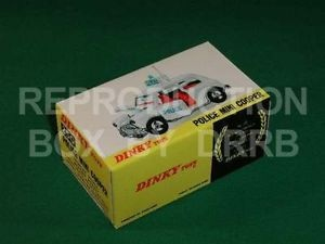 Dinky #250 Police Mini Cooper - Reproduction Box
