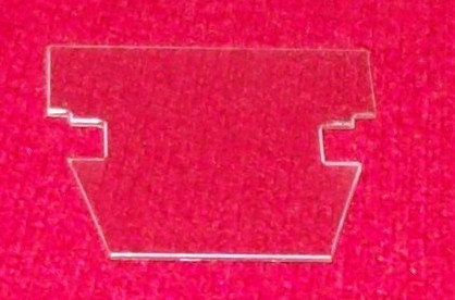 Dinky Toys 108 MG Midget plastic screen [ Each ]