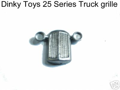 Dinky Toys 25 Series Radiator Grille (Not for the Type 1 Models but later English 25 types) [ Each ]