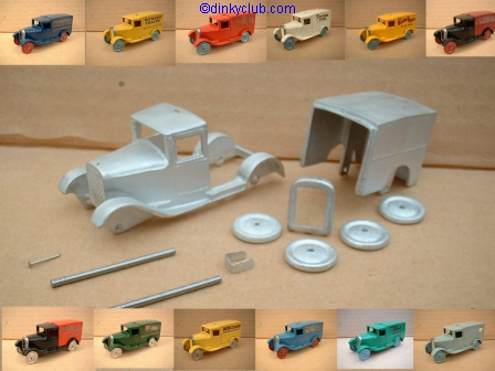 Dinky Toys copy model 28 Series Type 1 in kit form