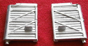 French Dinky Toys 36B Willeme Artic trailer doors RIGHT HAND [EACH DOOR]