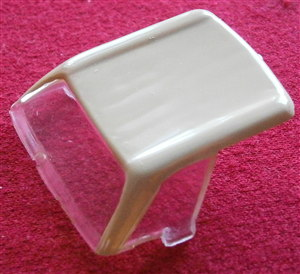 French Dinky Toys 516 Mercedes Benz 230SL plastic canopy with Cream hood top