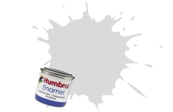 HUMBROL NO.11 SILVER ENAMEL PAINT 14ml