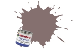 HUMBROL NO.126 SATIN US MEDIUM GREY ENAMEL PAINT 14ml