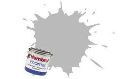 HUMBROL NO.147 MATT LIGHT GREY ENAMEL PAINT 14ml
