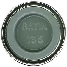 HUMBROL NO.165 SATIN MEDIUM SEA GREY ENAMEL PAINT 14ml