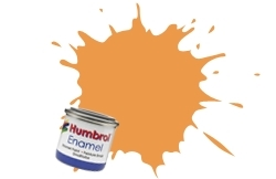 HUMBROL NO.61 MATT FLESH ENAMEL PAINT 14ml