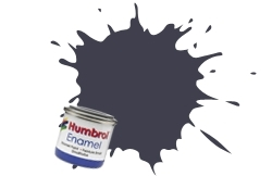 HUMBROL NO.79 MATT BLUE GREY ENAMEL PAINT 14ml