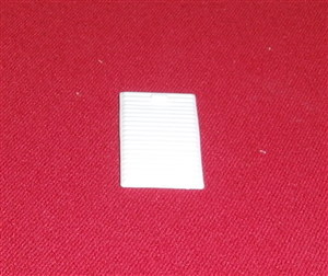 MATCHBOX 1-75 SERIES TOY PARTS 46B Guy White plastic roller shutter rear door
