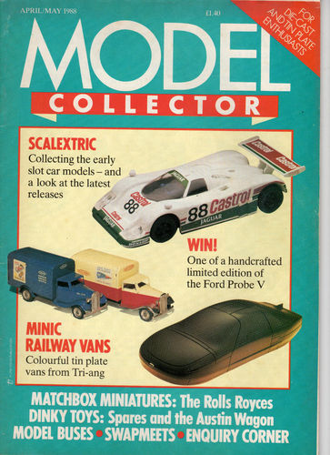 ORIGINAL MODEL COLLECTOR MAGAZINE April 1988 / May 1988