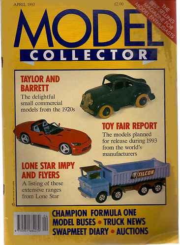 ORIGINAL MODEL COLLECTOR MAGAZINE April 1993
