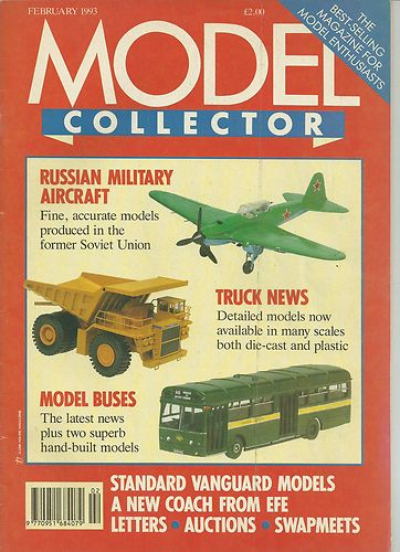 ORIGINAL MODEL COLLECTOR MAGAZINE February 1993