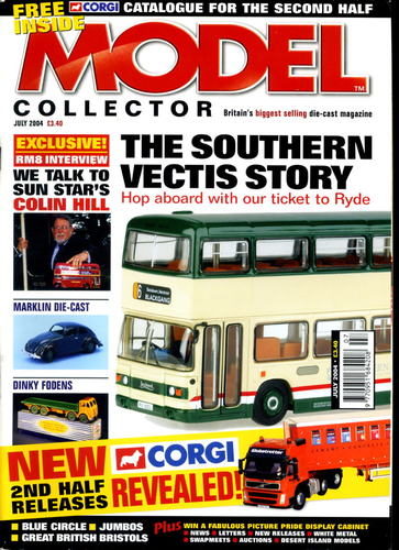 ORIGINAL MODEL COLLECTOR MAGAZINE July 2004