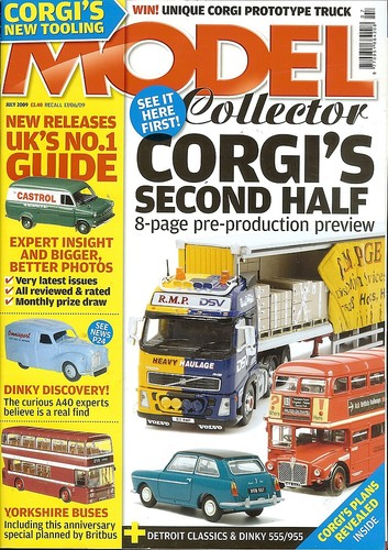 ORIGINAL MODEL COLLECTOR MAGAZINE July 2009