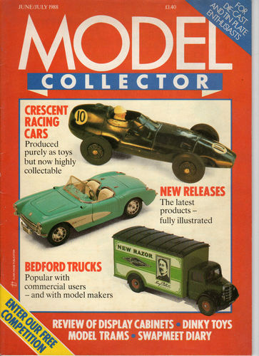 ORIGINAL MODEL COLLECTOR MAGAZINE June 1988 / July 1988