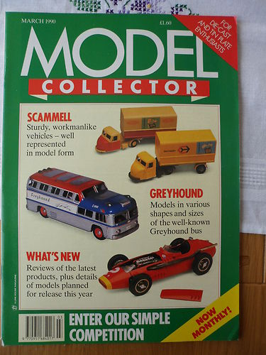 ORIGINAL MODEL COLLECTOR MAGAZINE March 1990